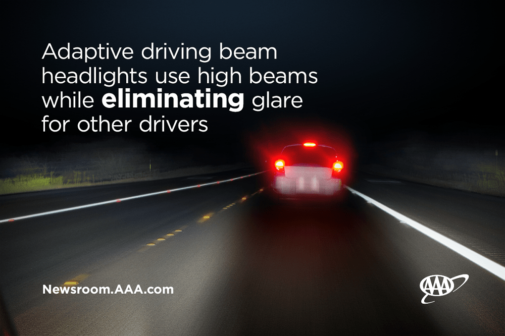 Adaptive driving beam headlights use high beams while eliminating glare for other drivers