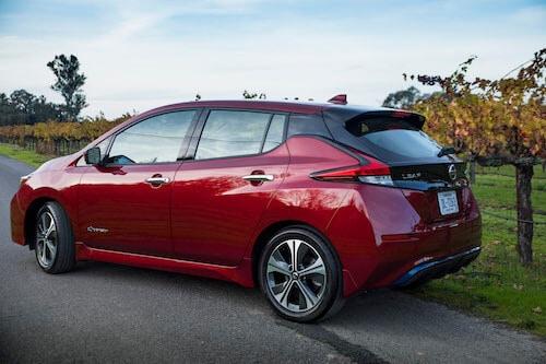 2019 Nissan Leaf. Credit: Nissan