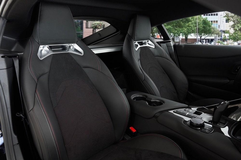 2021 Toyota Supra interior