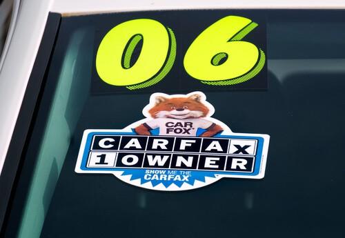One owner car sticker