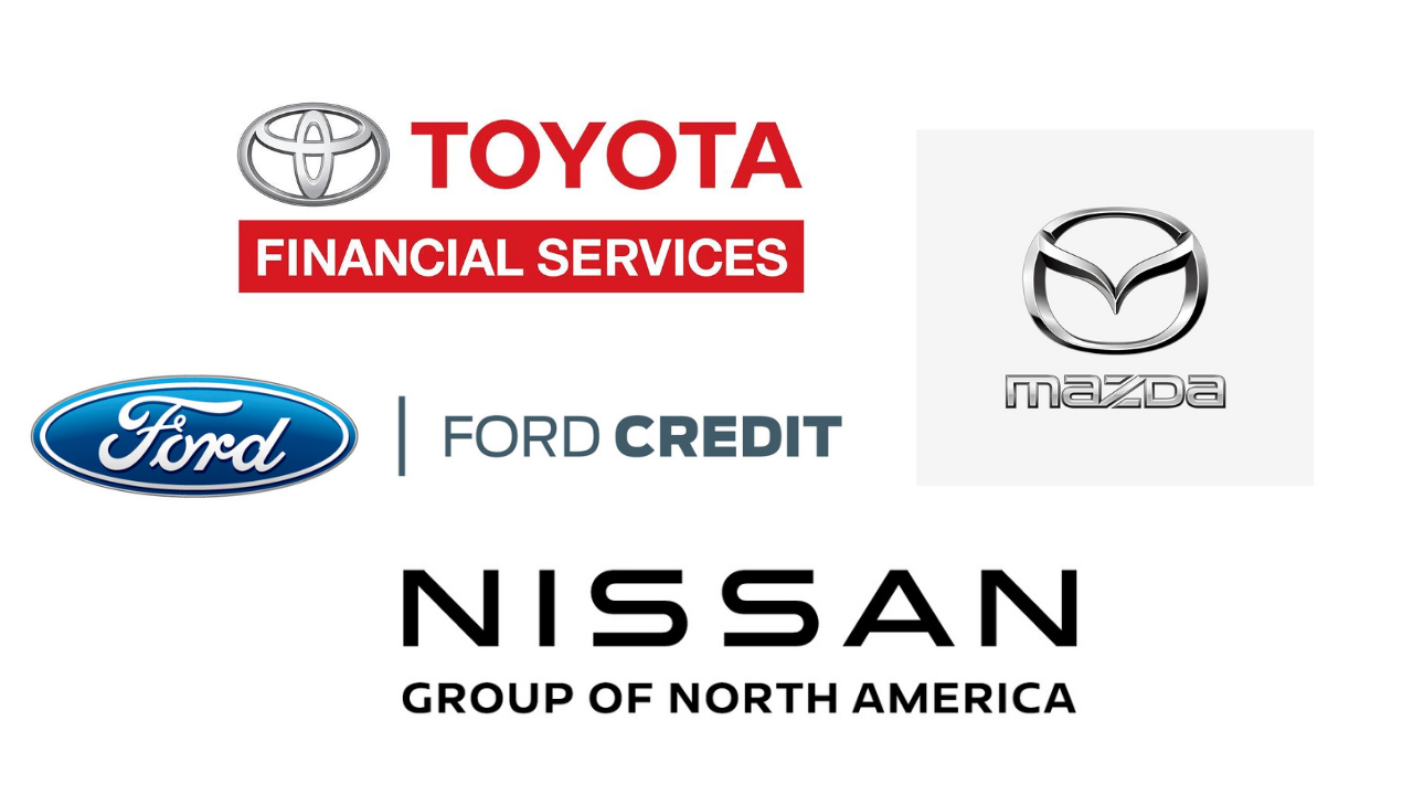 Toyota Financial Services - Ford Credit - Mazda - Nissan Group of North America