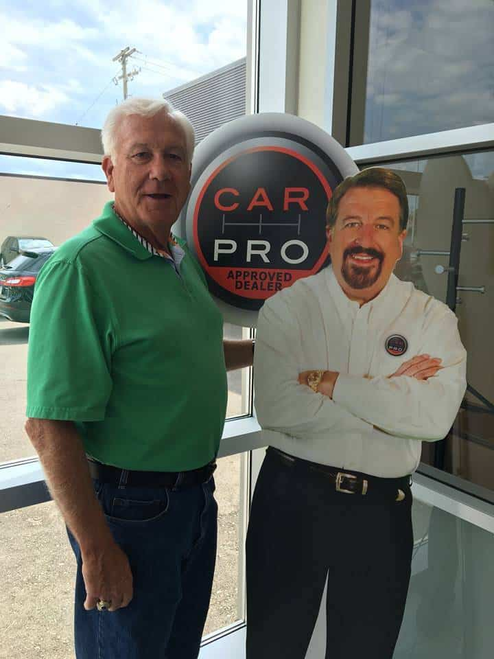 Jim O'Conner and Jerry Reynolds cut-out