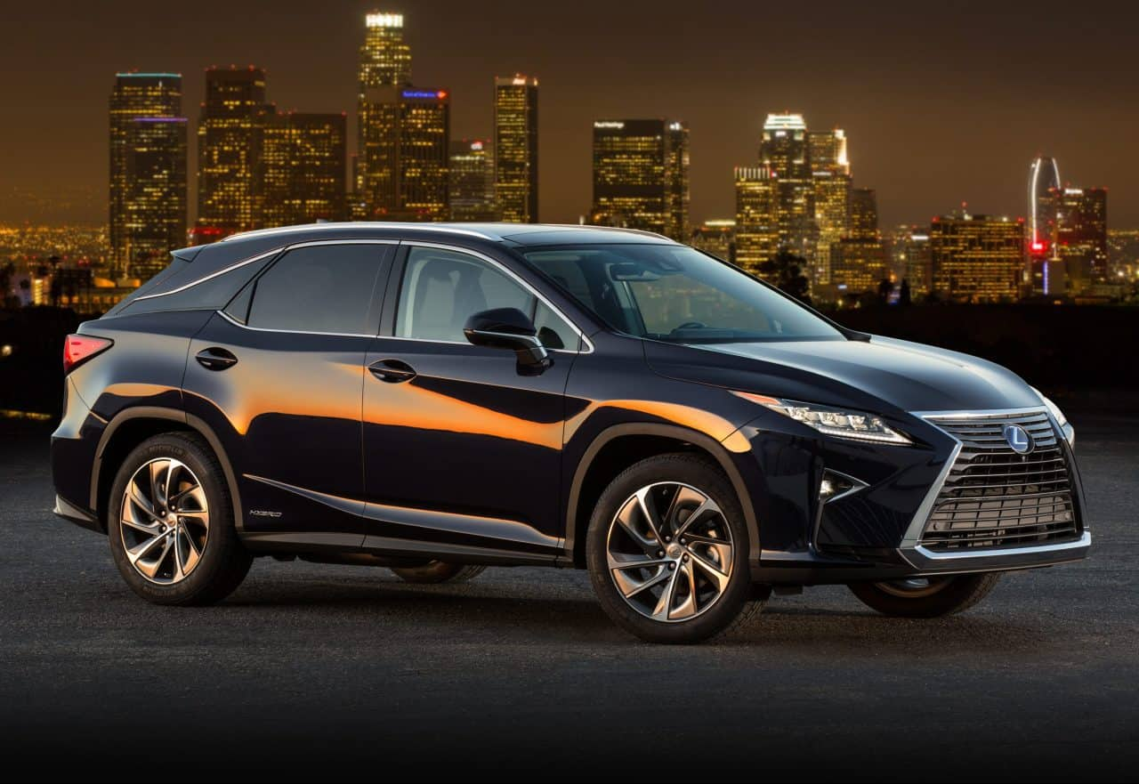 Test Drive: 2016 Lexus RX 450h Review
