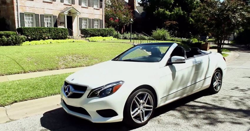 2014 Mercedes Benz E350 Cabriolet Test Drive