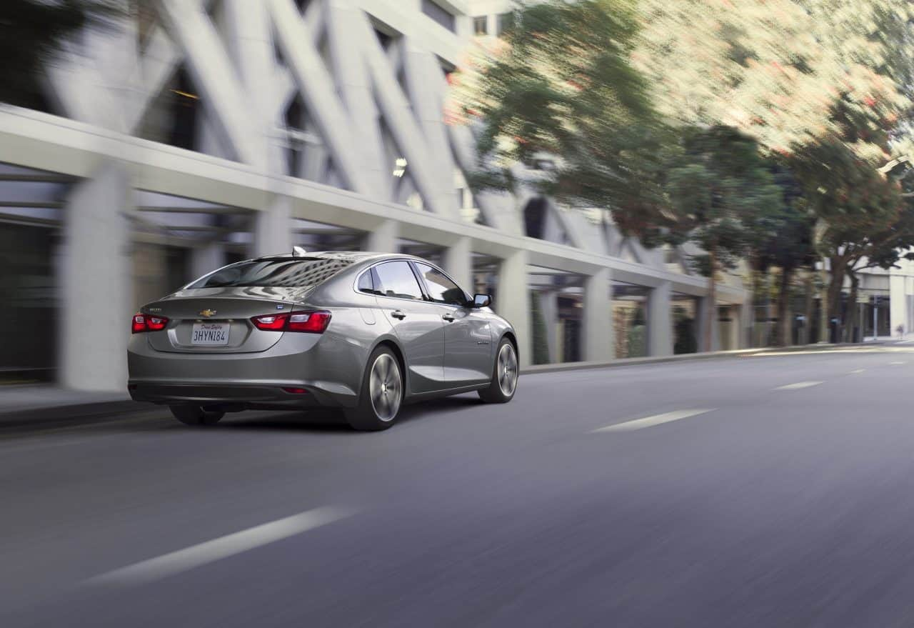 2016 Chevrolet Malibu Hybrid Test Drive and Review