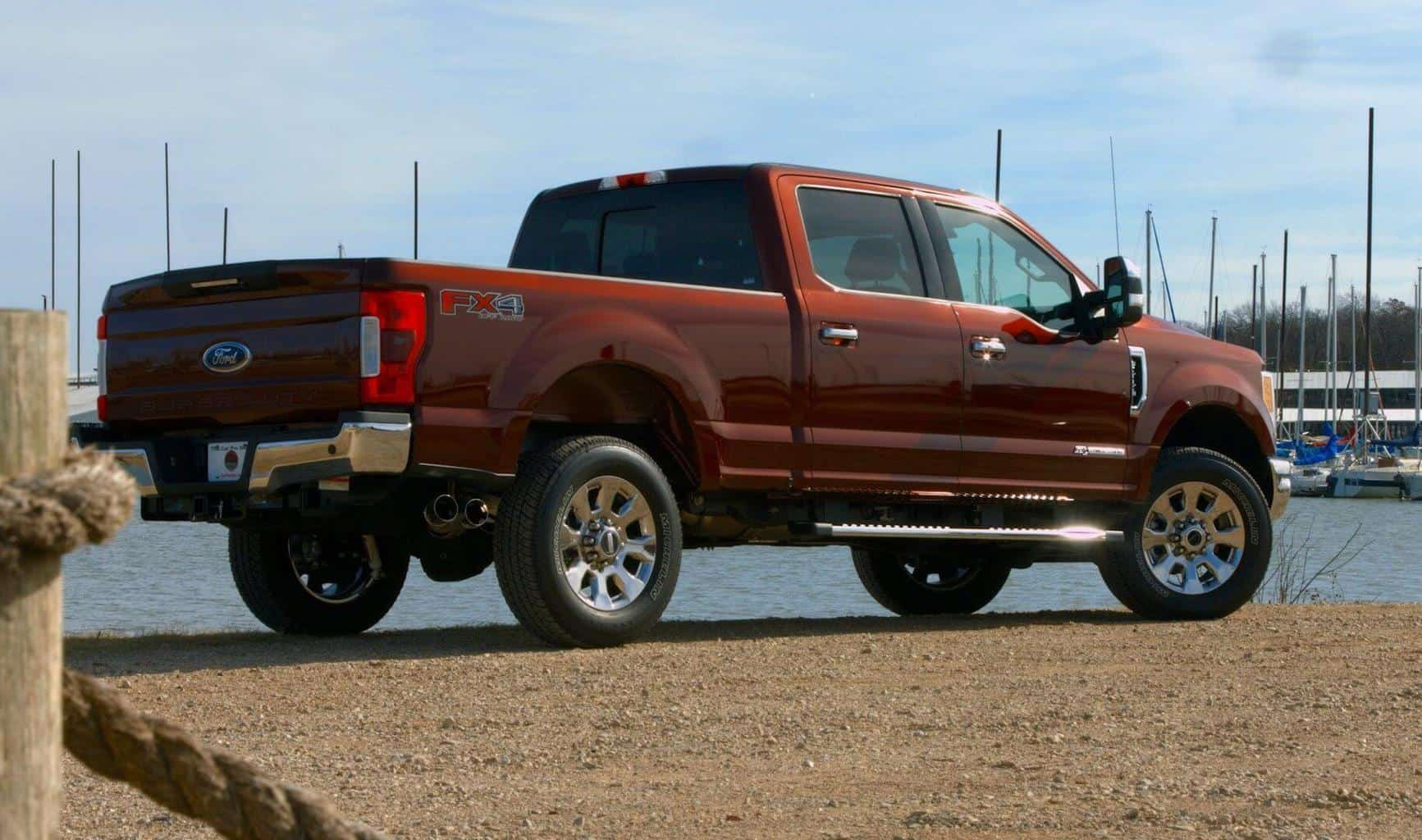 2017 Ford F-250 Power Stroke Lariat Test Drive