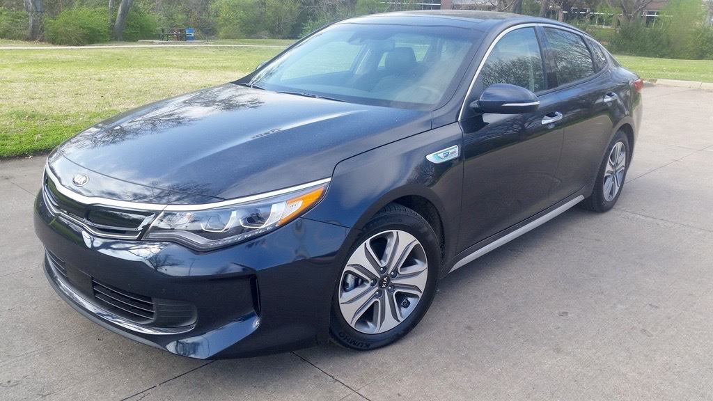 2017 Kia Optima Hybrid EX Test Drive