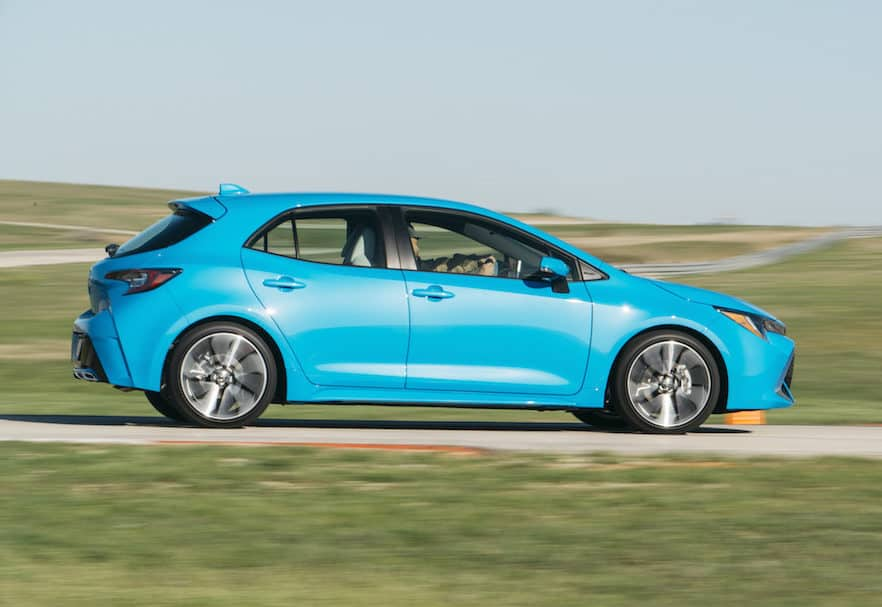 Sporty All-New 2019 Toyota Corolla Hatchback Offers Manual