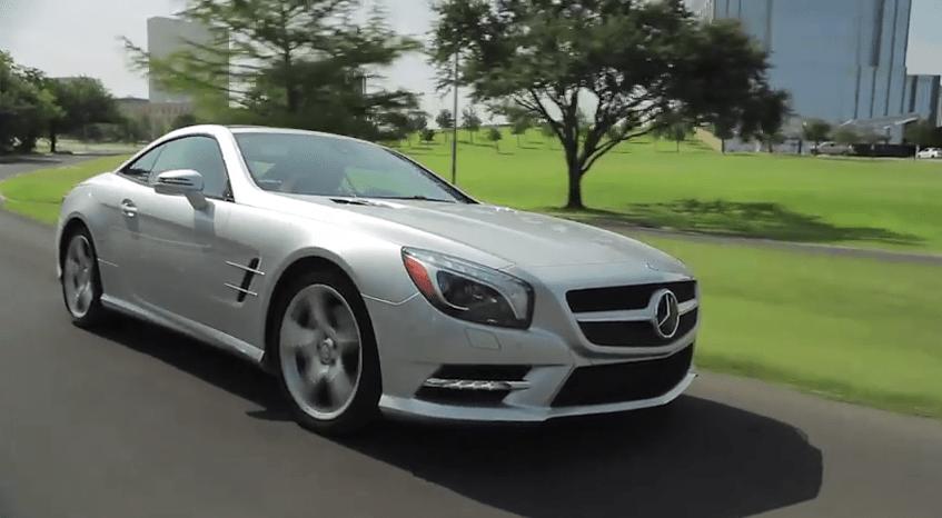 Test Drive: 2013 Mercedes SL550 Convertible  Review