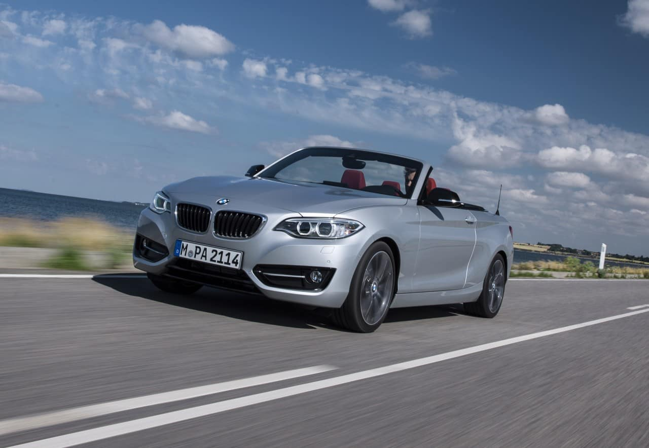 Test Drive: 2015 BMW 228i ConvertibleReview