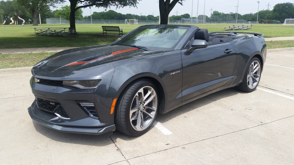 2017 Chevrolet Camaro SS 50th Anniversary Edition Review