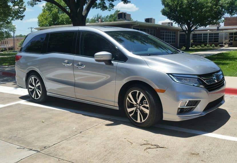 2018 Honda Odyssey Test Drive