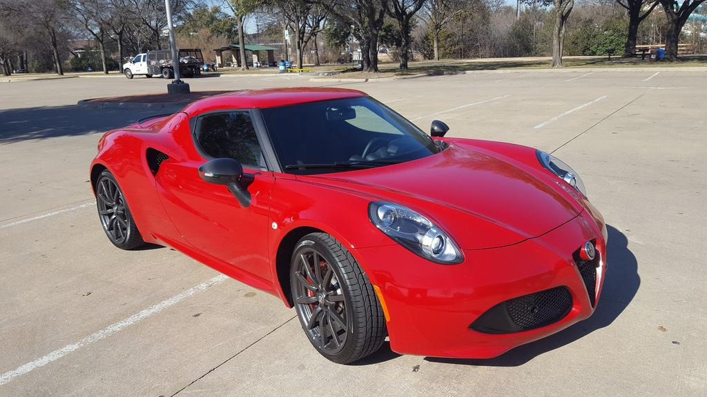 2018 Alfa Romeo 4C Test Drive and Review