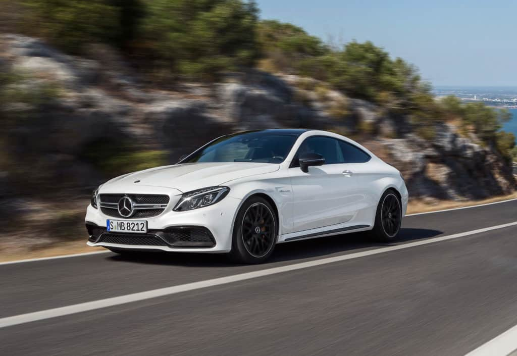 2018 Mercedes-AMG C63 S Coupe Test Drive