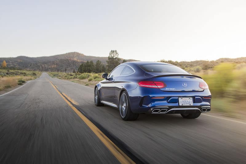 2018 Mercedes-AMG C63 S Coupe Test Drive Photo Gallery