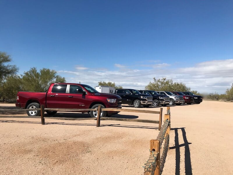 All-New 2019 Ram 1500 Strikes A Pose in the Arizona Desert