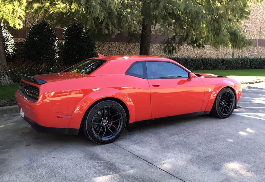 2018 Dodge Challenger Hellcat Widebody Test Drive