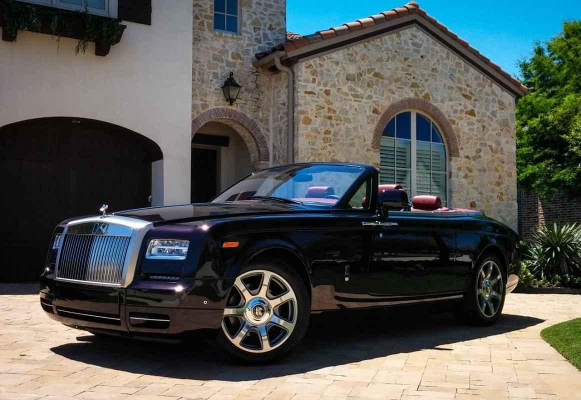 2016 Rolls-Royce Phantom Drophead Coupe Test Drive