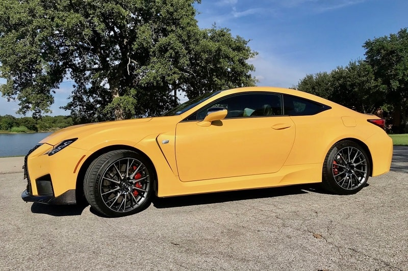 2020 Lexus RC F Performance Review