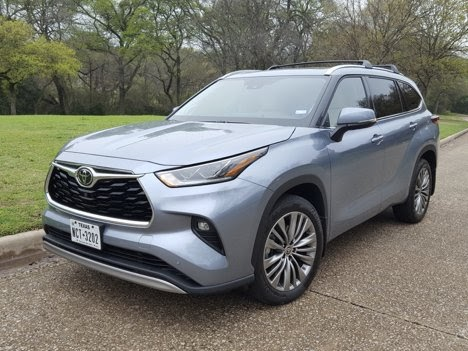 2020 Toyota Highlander Platinum Review