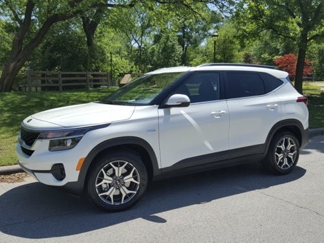 2021 Kia Seltos EX AWD Review