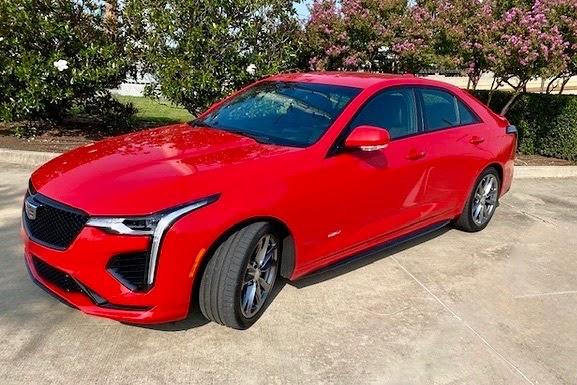 2020 Cadillac CT4-V Review