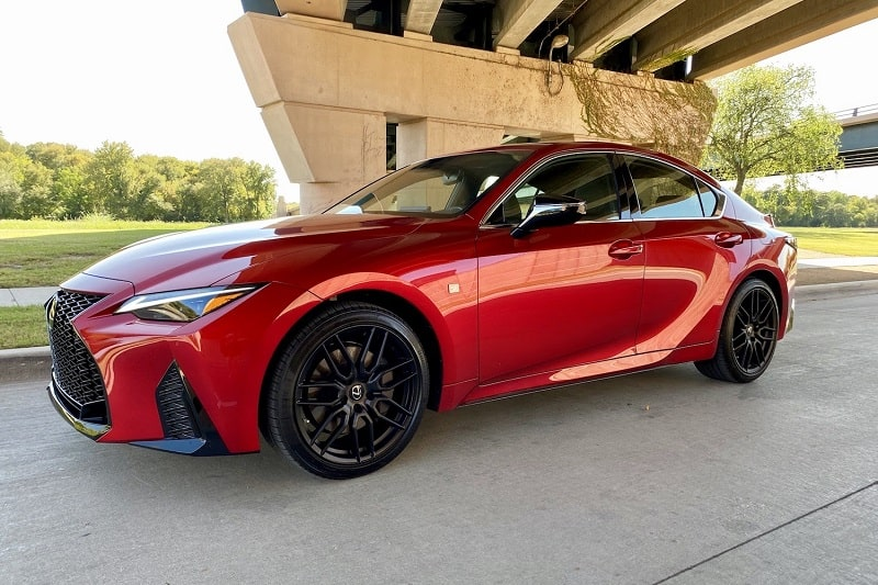 2021 Lexus IS 350 F Sport AWD Review