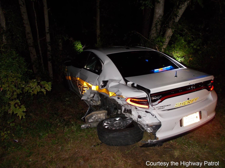 Highway Patrol Sheriff's car