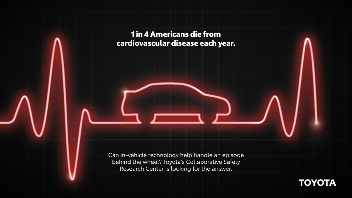 1 in 4 Americans die from cardiovascular disease each year.