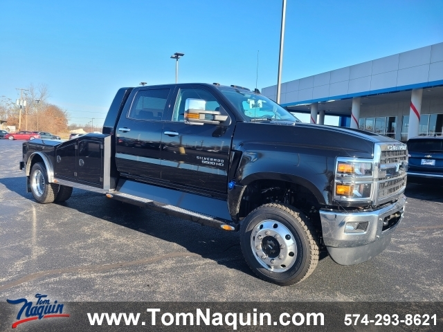 2019 Chevrolet Silverado MD RWD Reg Cab Work Truck DRW, T9145, Photo 1