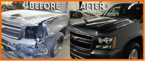 Before/After body restoration