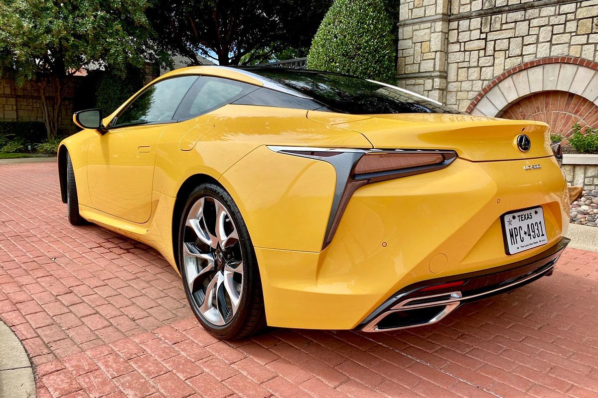 2020 lexus lc 500 coupe review   carprousa