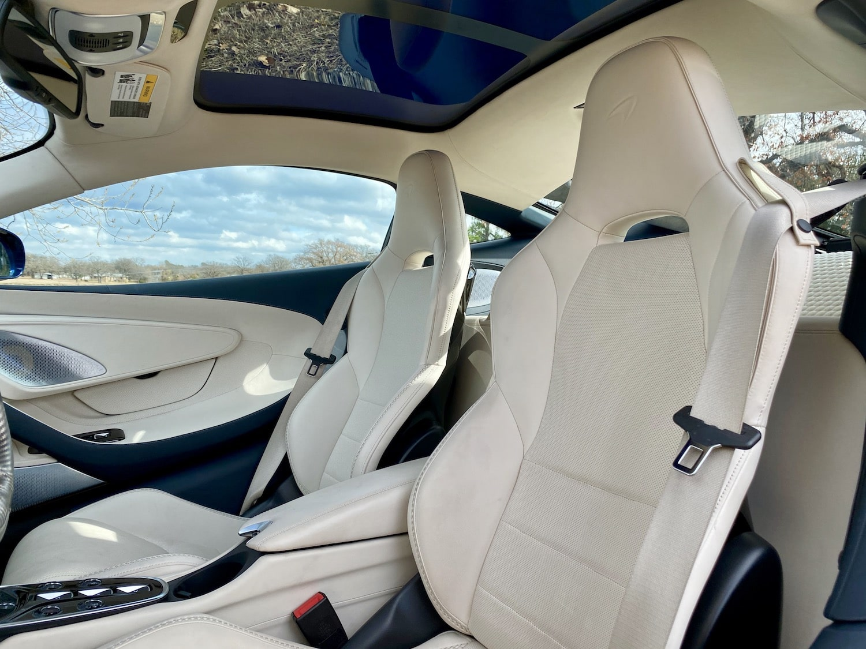 2020 McLaren GT interior