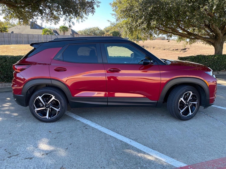 2021 Chevrolet Trailblazer RS exterior