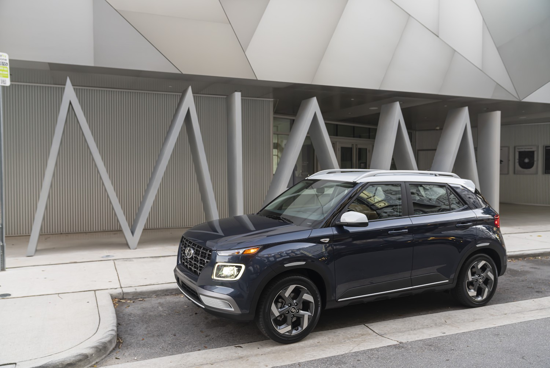 2021 Hyundai Venue Denim exterior