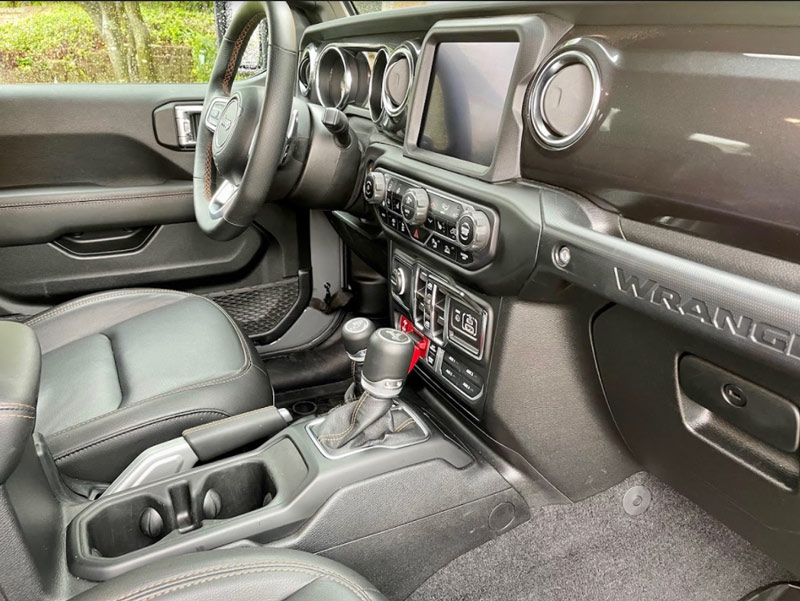 Front Seat 2021 Jeep Wrangler