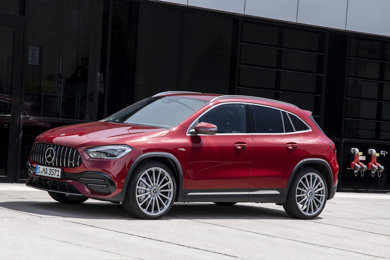 2021 Mercedes-Benz AMG GLA 35 exterior