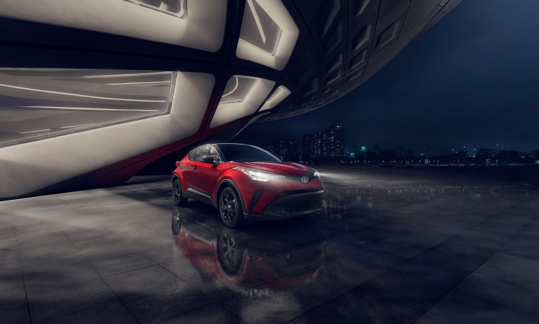 2021 Toyota C-HR Nightshade.