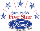 Sam Pack's 5 Star Ford - North Richland Hills Logo