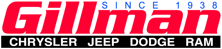 Gillman Chrysler Jeep Dodge Ram Logo