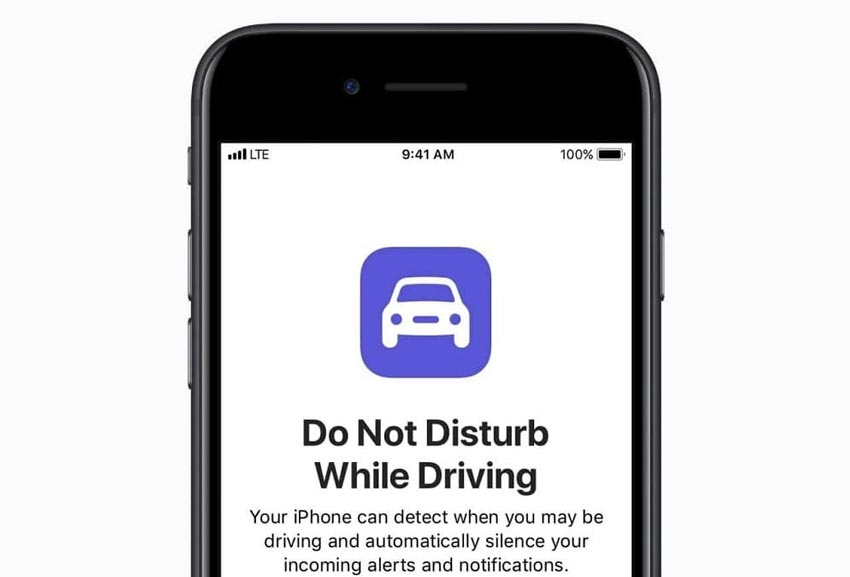 Do Not Disturb While Driving on the iPhone