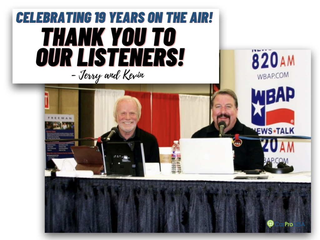 Celebrating 19 years on the air!