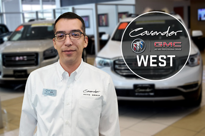 Cavender Buick GMC West Logo