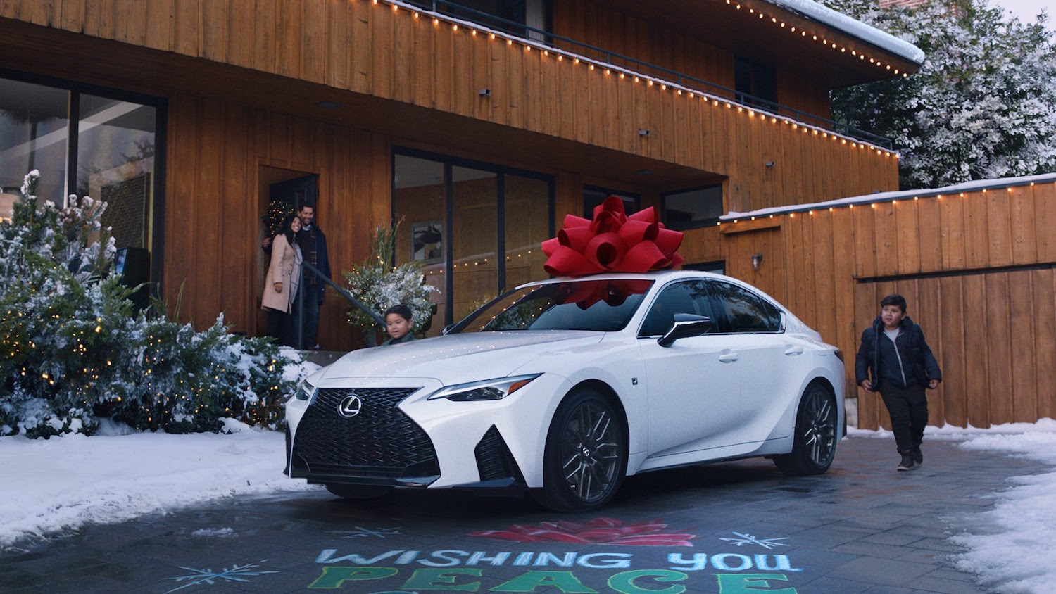 New Lexus with Bow