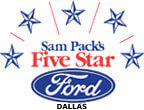 Sam Pack's 5 Star Ford - Dallas Logo
