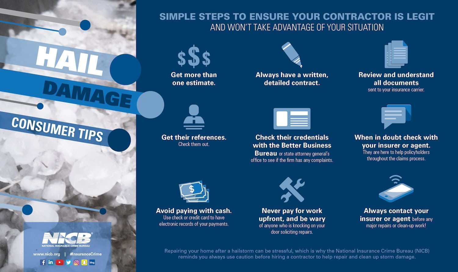 Simple steps to ensure your contractor is legit.