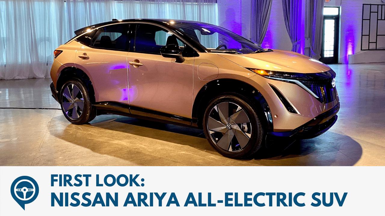 First Look - Nissan Ariya All-Electric SUV