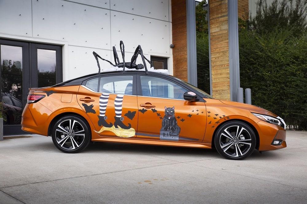 Halloween Nissan Sentra