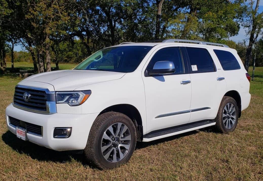 2018 Toyota Sequoia Limited Is A Powerful Roomy Three Row Ride Carprousa