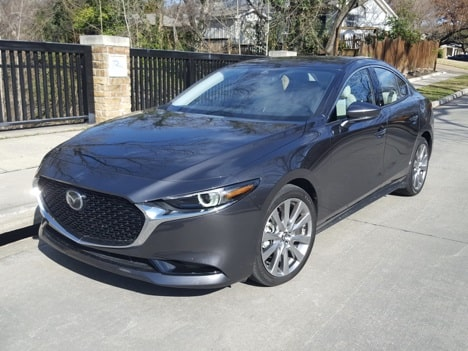 The 2020 Mazda3 Premium Sedan Is Tops In Its Class